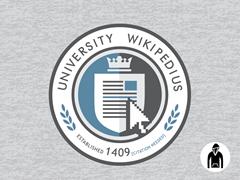 University Wikipedius Pullover Hoodie