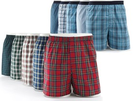 Hanes Men's Tagless Boxers, 8-Pack