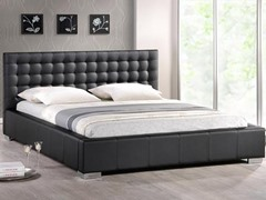 Madison Platform Bed - Queen - Black