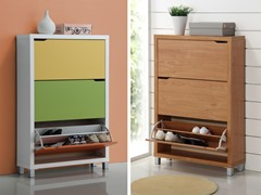 Baxton Studio Simms Shoe Cabinets - Your Choice