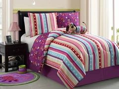 Reversible Bedding Set (Twin or Full) - Puppy