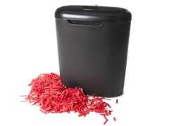 Shredz 8-Sheet Cross-Cut Paper Shredder