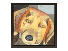 Unleashed Life Beagle Oil Painting