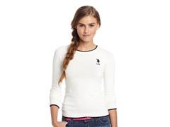 Crew Neck Sweater, Glory Vanilla