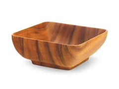 Acaciaware Square Bowl 10""