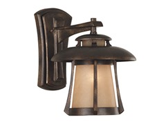 Laguna Wall Lantern Golden Bronze