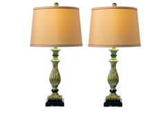Regal Table Lamp 2-Pack with Shades