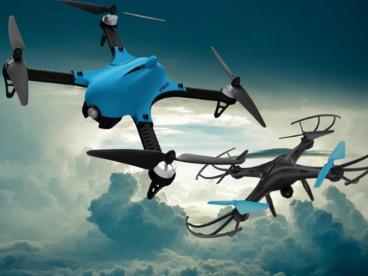 Flock of Drones