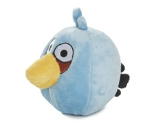 Blue Angry Bird Plush Toy