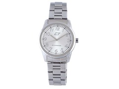 Chronotech Men's Silver Watch