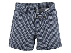 Navy Houndstooth Shorts (2T-11/12Y)