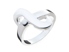 Sterling Silver S Ring