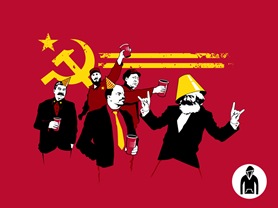 The Communist Party Pullover Hoodie