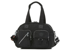 Defea Medium Handbag, Black