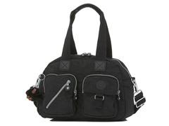 Defea Medium Handbag, Black
