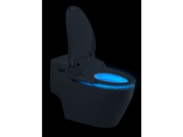 Superb Biobidet Slim One Elongated Bidet Toilet Seat Ibusinesslaw Wood Chair Design Ideas Ibusinesslaworg