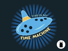 This is My Time Machine Remix Unisex PolyCotton Tank