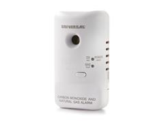 USI Plug In CO & Natural Gas Alarm