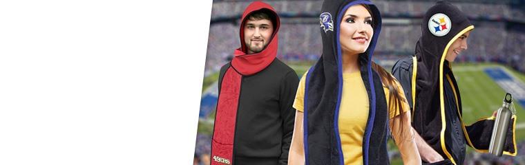 NFL Hoodie Scarves