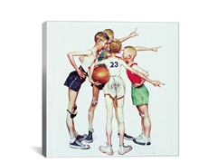 Four Sporting Boys: Basketball (2 Sizes)