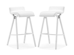 Xert Bar Chair White Set of 2
