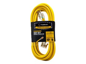 25Ft. 10/3 Lighted Extension Cord