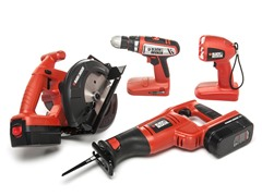 Black & Decker 18-Volt 4-Tool Combo Kit
