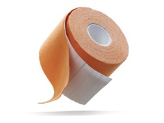 Orange Kinetic Kinesiology Tape