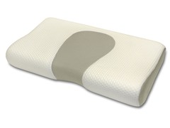 Scented Memory Foam Contour Pillow - Green Tea