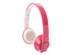 Bluetooth Headphones - Pink/White