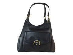 Campbell Leather Hobo, Black