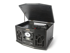 Vintage Turntable with Vinyl-to-MP3