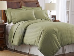 500TC Cotton Duvet Cover Set-Sage-2 Sizes