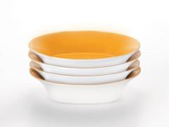 """9"""" Pasta Bowls (4) - Yellow"""