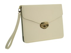 Calypso iPad Case - White & Gray