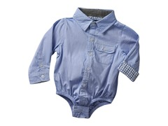 Infant Oxford Shirtzie - Blue (3M-6M)
