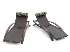 Delano ARC Lounger - Set of 2