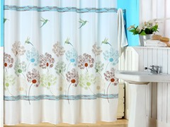 Springtime Printed Shower Curtain