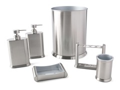 Arc Brushed Nickel 6-Piece Bath Set