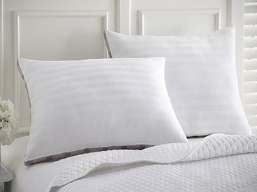 2-Pack 100% Cotton Cover Pillows