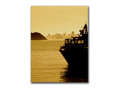 Ferry From Tiburon by Proppe (2 Sizes)