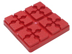 Red Lynx Leveler w/ Nylon Case, 4-Pack