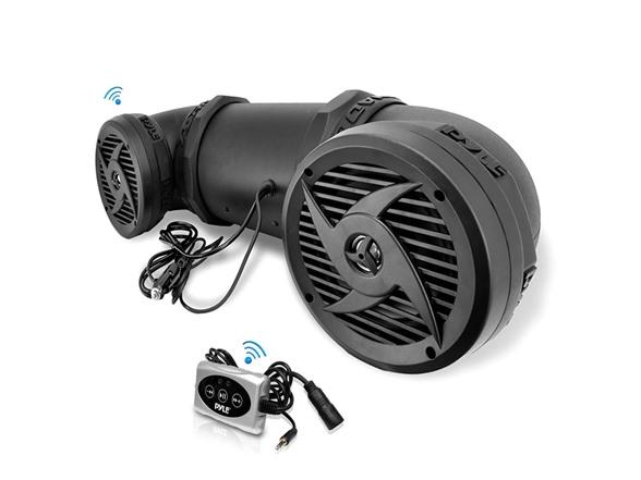 Pyle Waterproof Atv Bluetooth Speaker