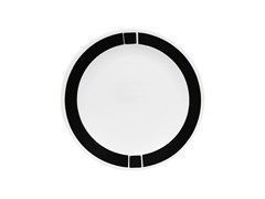 Urban Black Luncheon Plates Set of 6