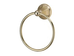 Towel Ring, Brushed Brass