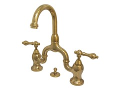 Lavatory Faucet with Pop-up, Brass