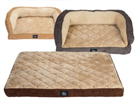 Serta Extra Large Pet Beds - 2 Styles