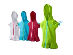 Girl's Cover Ups 4-Colors (2T-6X)
