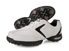 Men's Chev Comfort Shoes White