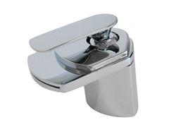 Waterfall Lavatory Faucet, Chrome